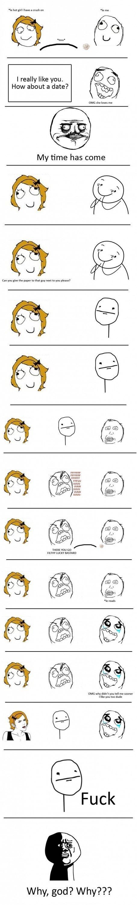 funny pictures auto rage comics god why
