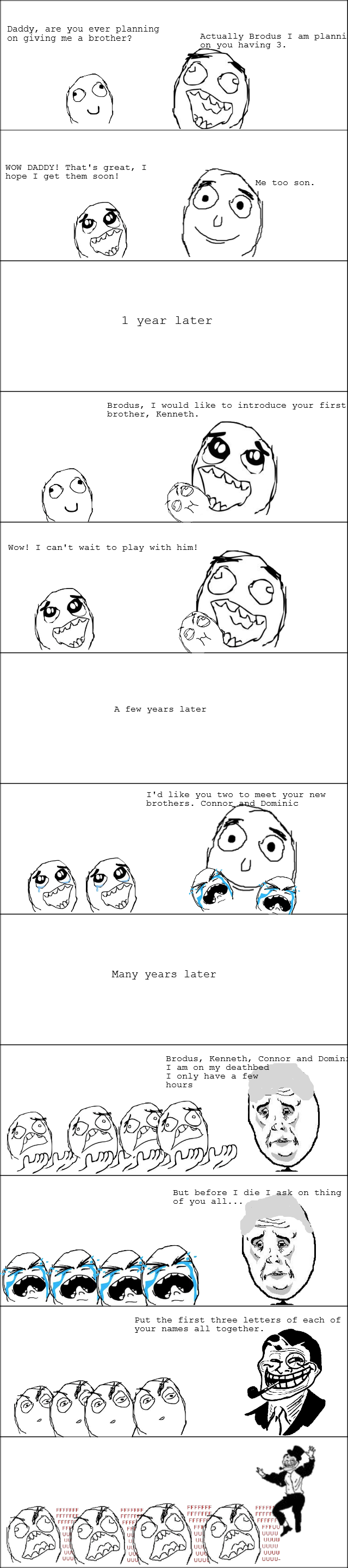 funny pictures auto rage comics troll dad
