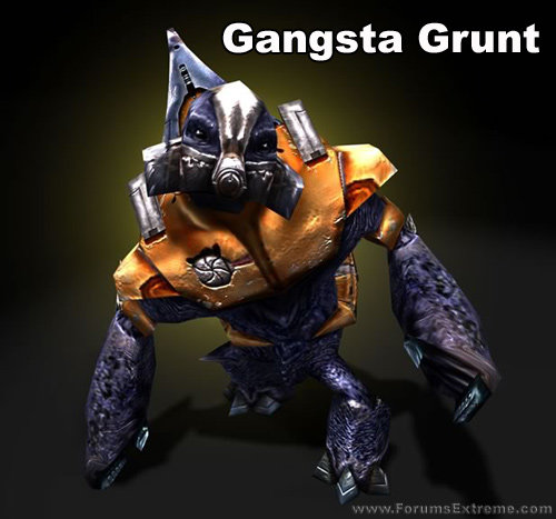 funny pictures halo gangsta grunt