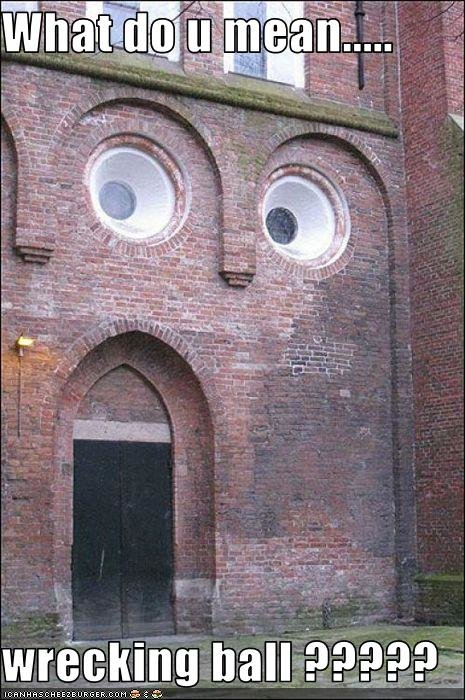 funny pictures wall shocked