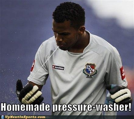 funny sports pictures homemade pressure washer