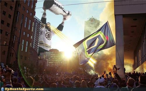 funny sports pictures vancouver riot pic