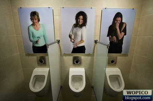 funny toilet poster