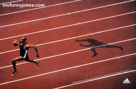 funny ad pic001 - look how fast this guy is