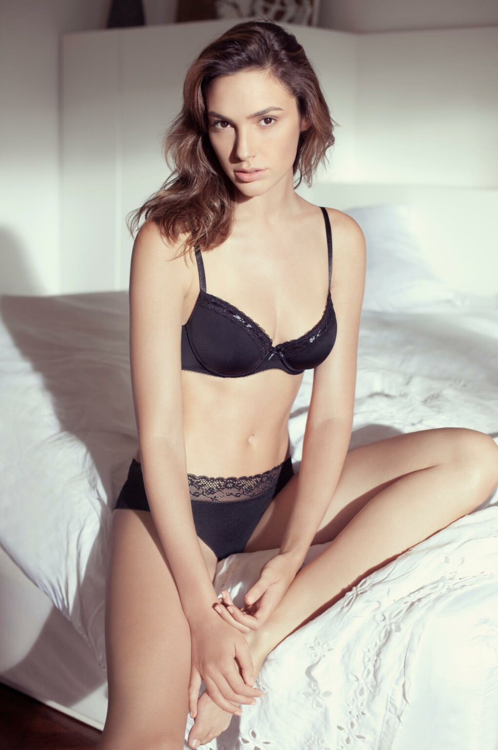 gal gadot ready for bed