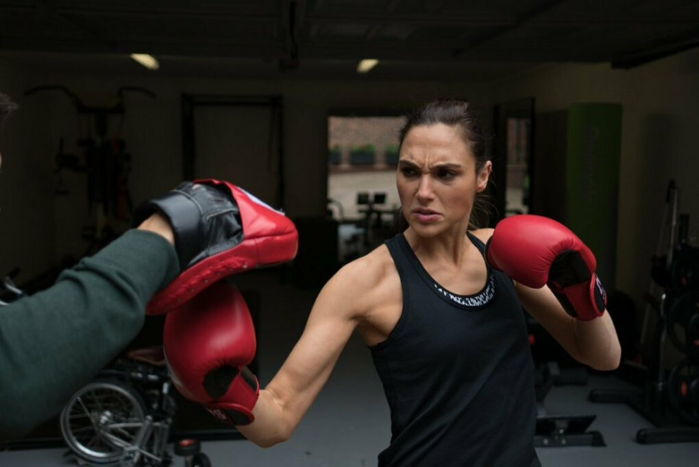 gal gadot training for justice league