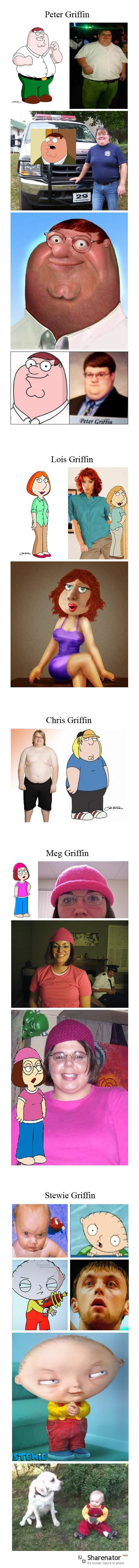 galutinis - what if family guy characters were real