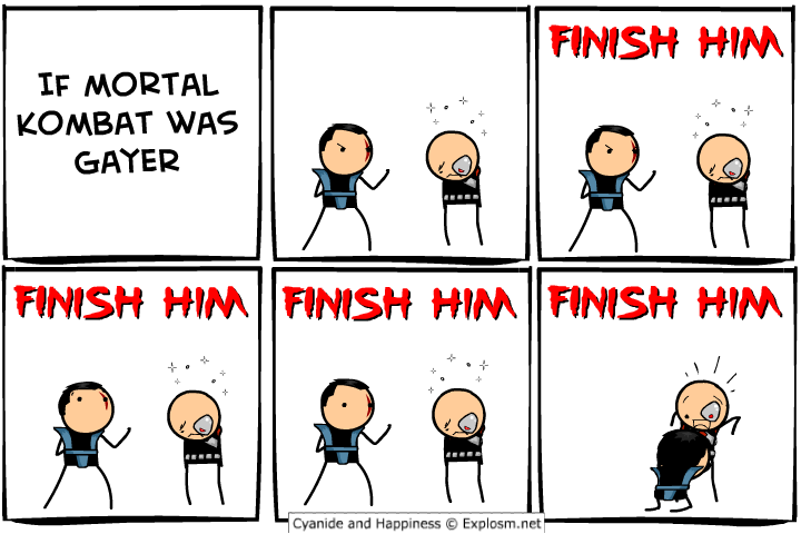 gayer - cyanide and happiness collection three