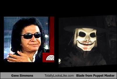 gene simmons blade from puppet master