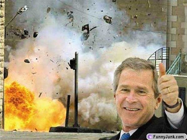 georgebushexplosion - for those who hate political!