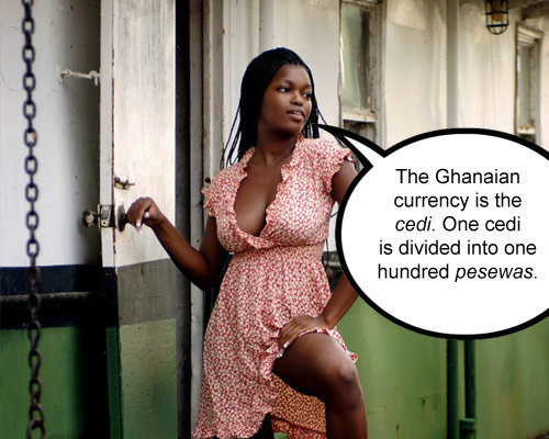 ghanaian currency