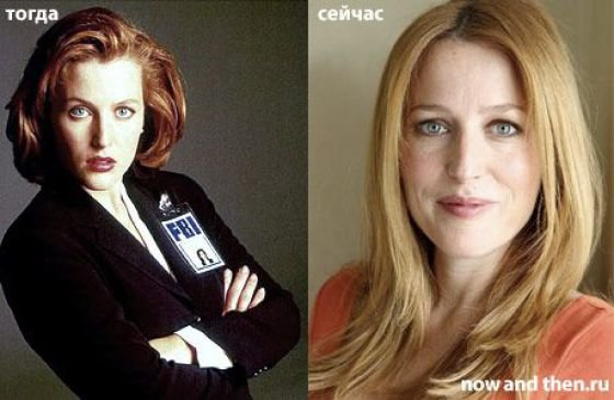 gillian anderson young
