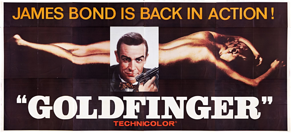 goldfinger 24sh - what are your top five bond movie