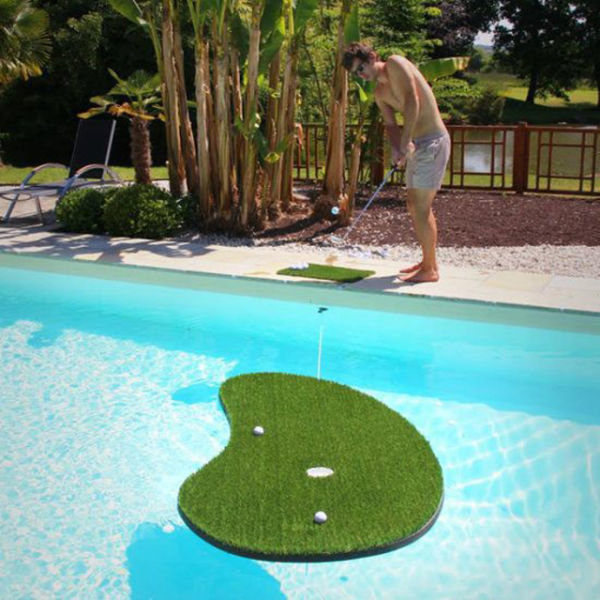 golf swimming pool