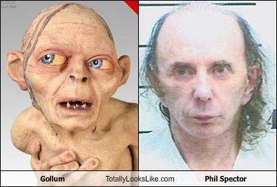gollum totally looks like phil spector