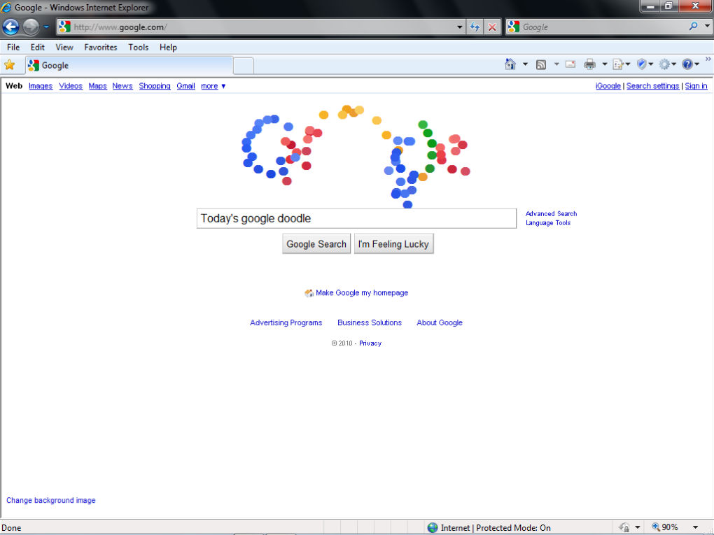 google3 - today's google doodle