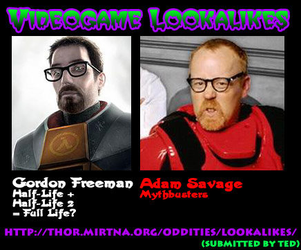gordon freeman half life adam savage