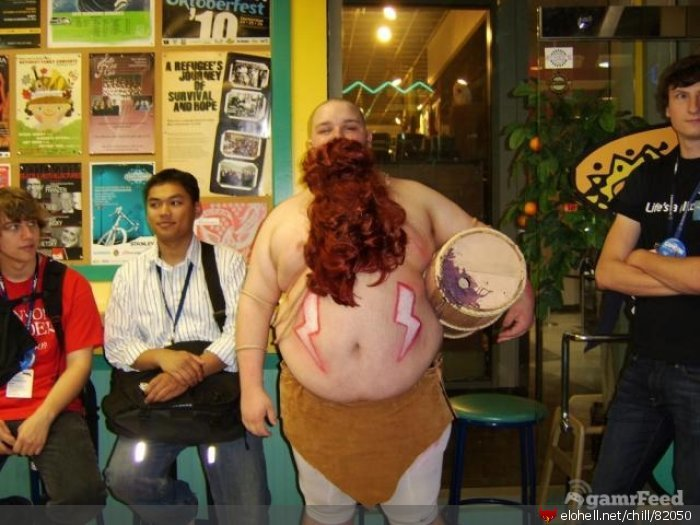 gragas - awesome league of legends cosplay