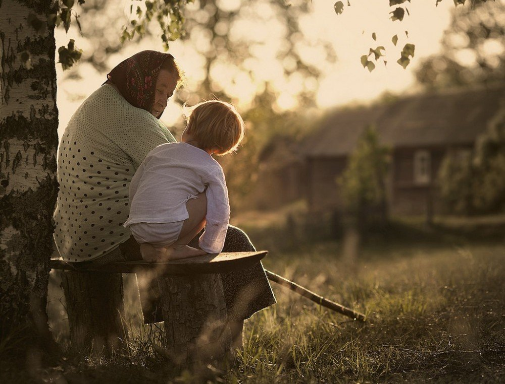 grandmother - 20 emotional images that make you feel