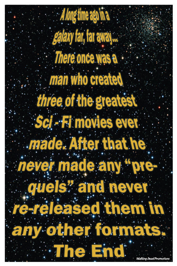 greatest star wars poster
