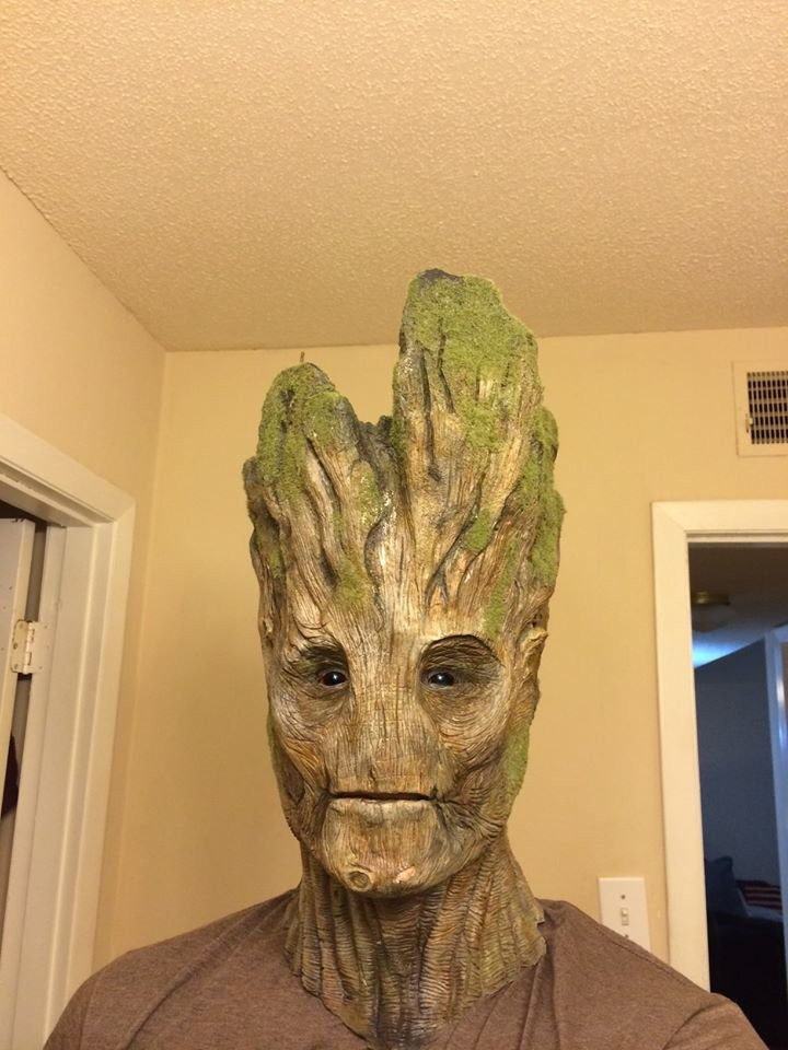 groot done makeup practical