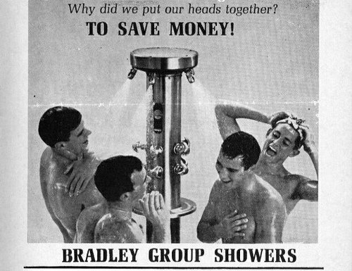 group showers