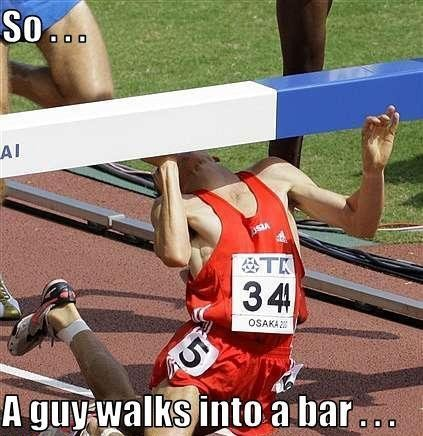 guy walks into bar picture
