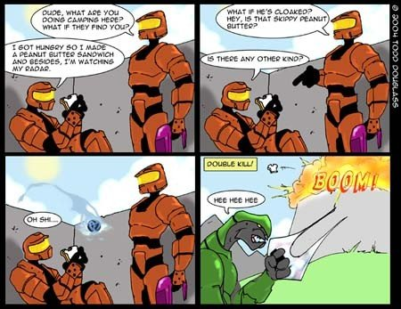 halo2comic 2 - halo is funny