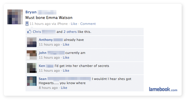 harry3 - facebook fails and wins :)