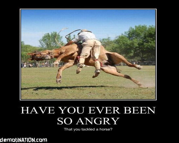 have you ever been so angry - have you ever been so angry that...