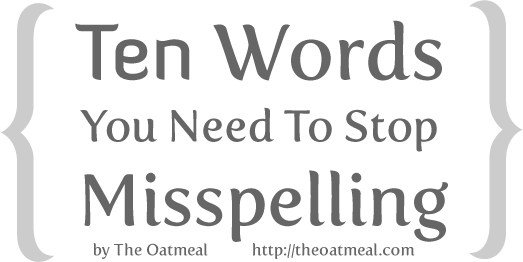 header - 10 words you need to stop misspelling