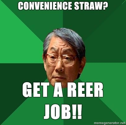 high expectations asian father convenience straw get reer job