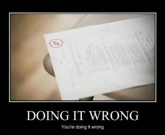 hilarious youre doing wrong posters