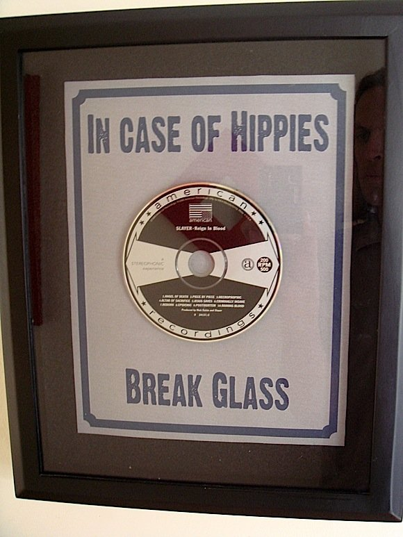 hippies - in case of emergency...