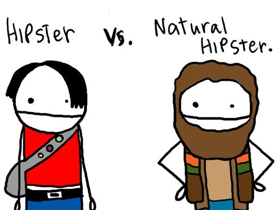 hipster - to our sharenator veterans.