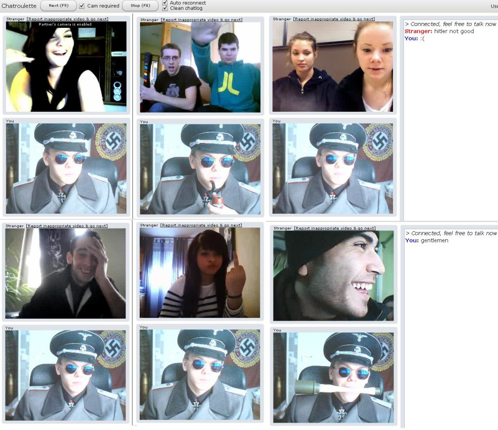 hitler webcam