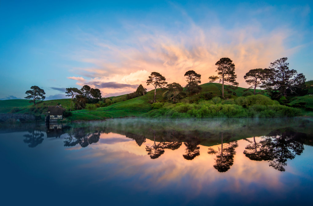 hobbiton morning what does look like