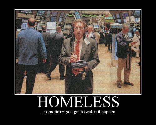 homeless - demotivational posters