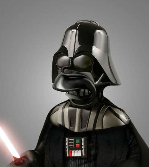 homer simpson darth vader