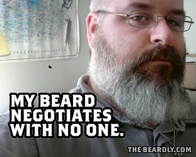 horizontal beardly negotiates