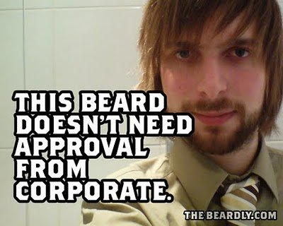 horizontal beardly approval
