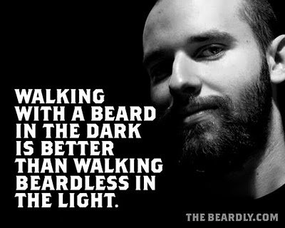 horizontal beardly beardless