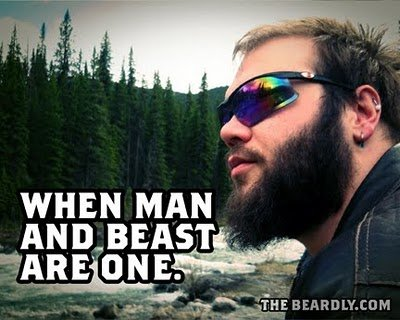 horizontal beardly beast
