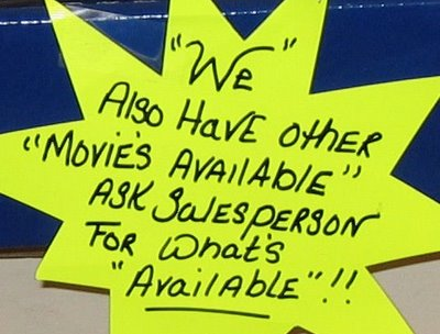 horrible5 - unnecessary quotation marks