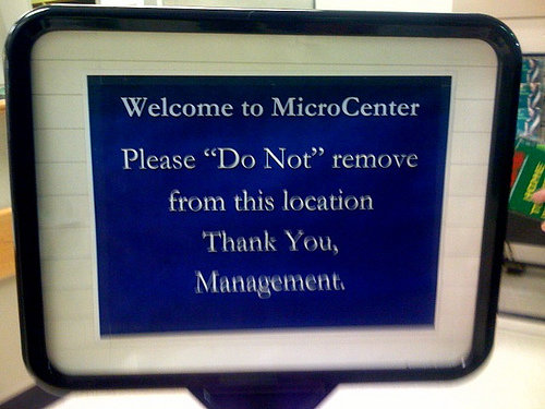 horrible8 - unnecessary quotation marks