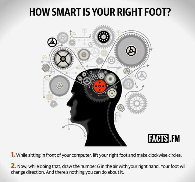 smart your right foot