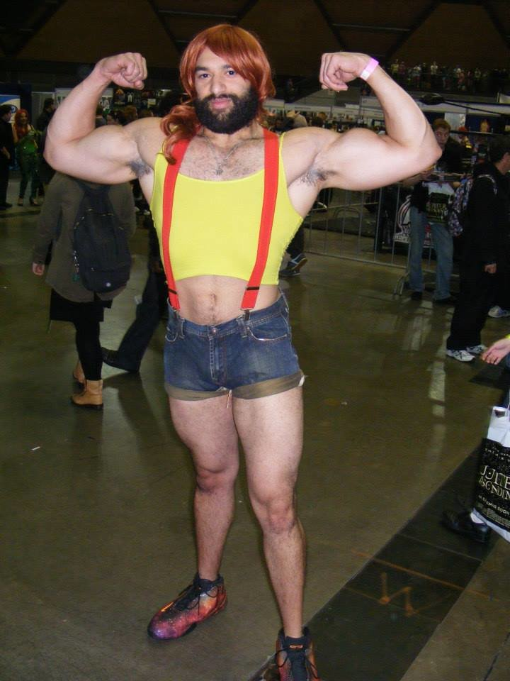 huge chested misty cosplay