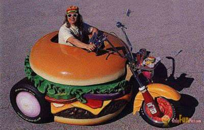 hungry j - the cheeseburger motorcycle