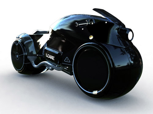 icare motorcycle concept