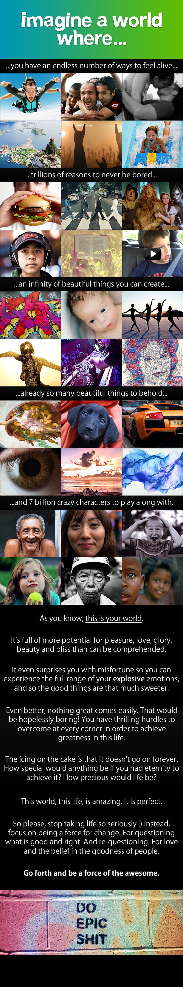 imagine - some of the most powerful inspirational quotes and pictures